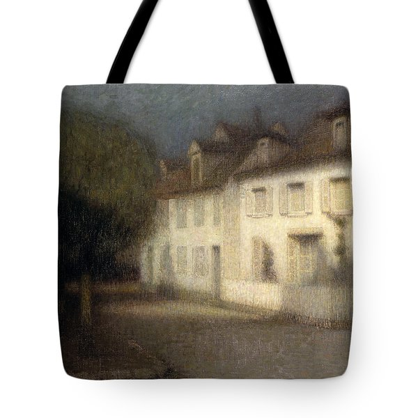 The House Tote Bag by Henri Eugene Augstin Le Sidaner