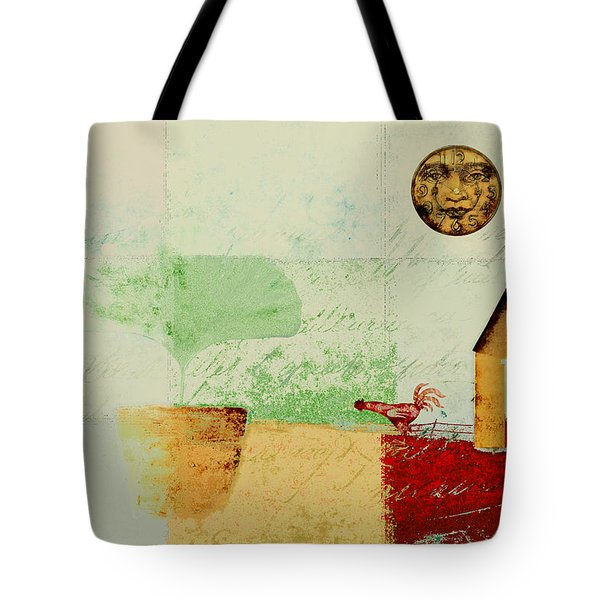 The House Next Door - J191206097-c4f1 Tote Bag by Variance Collections