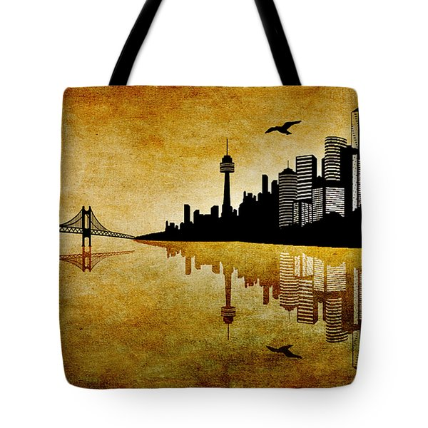 The Hubris Of Mankind 1 Tote Bag by Angelina Vick