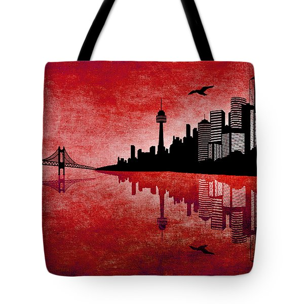 The Hubris Of Mankind 3 Tote Bag by Angelina Vick