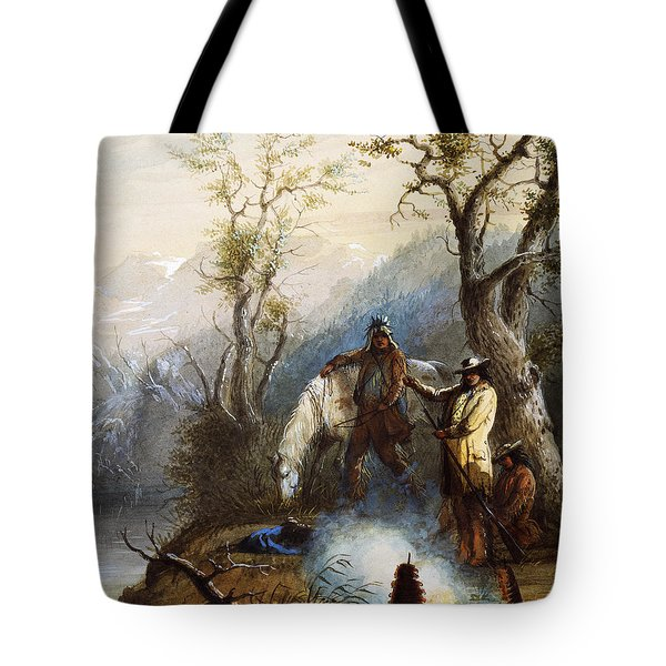 The Hump Rib Tote Bag by Alfred Jacob Miller