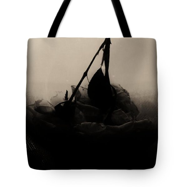 The Inverted Rose Tote Bag by Jessica Shelton