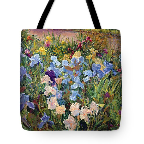 The Iris Bed Tote Bag by Timothy Easton