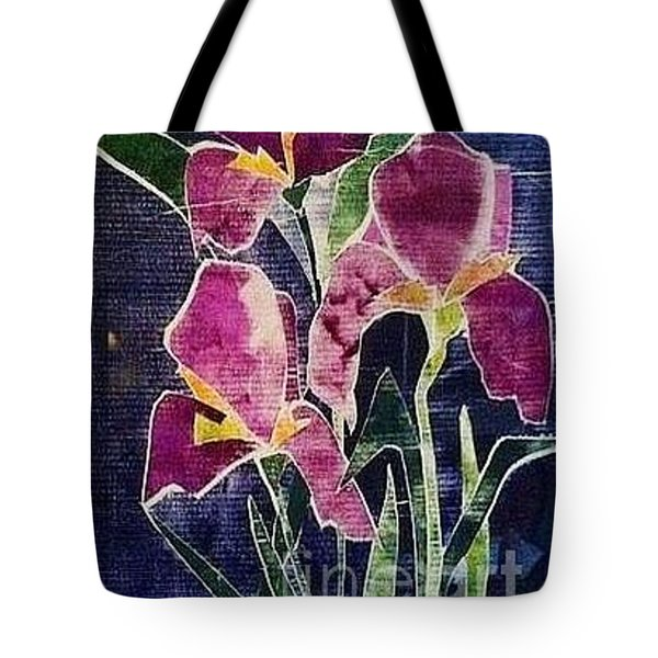 The Iris Melody Tote Bag by Sherry Harradence