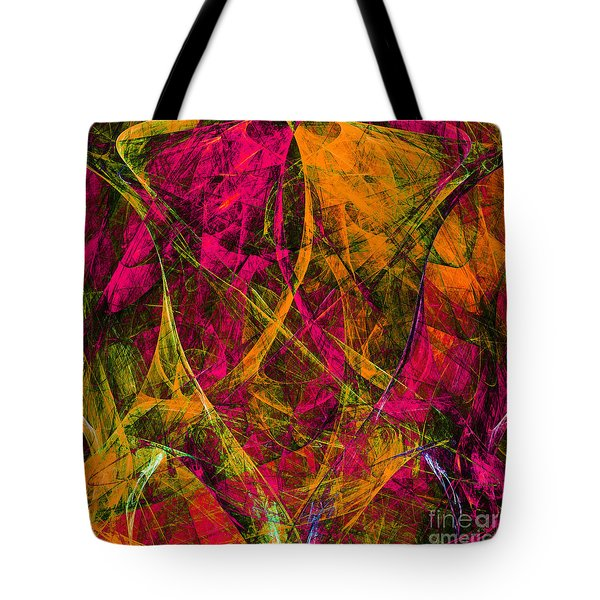 The Jester 20130510 square Tote Bag by Wingsdomain Art and Photography