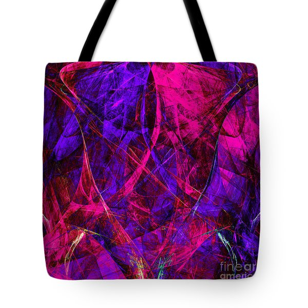The Jester 20130510v2 Square Tote Bag by Wingsdomain Art and Photography