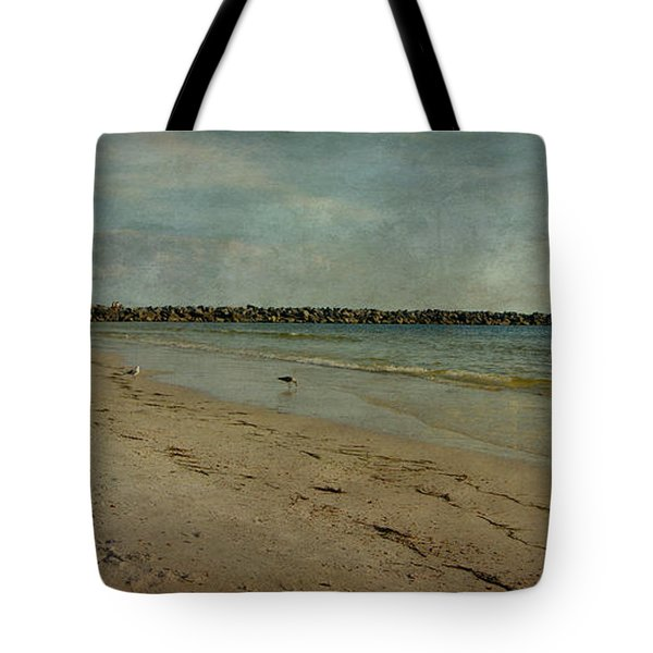 The Jetty Tote Bag by Sandy Keeton