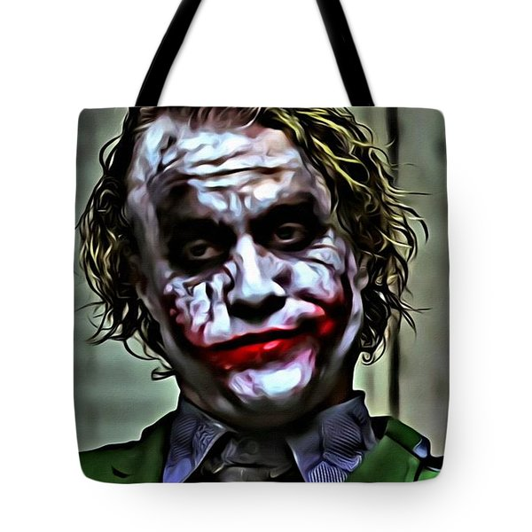 The Joker Tote Bag by Florian Rodarte