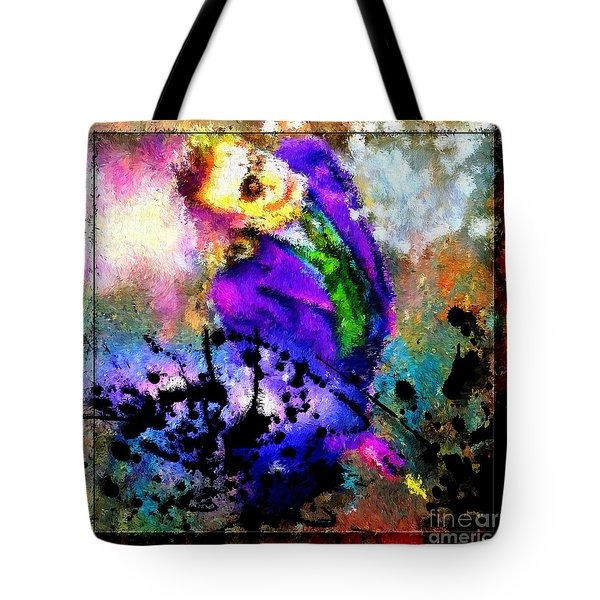 The Joker The Dark Knight Tote Bag by Daniel Janda