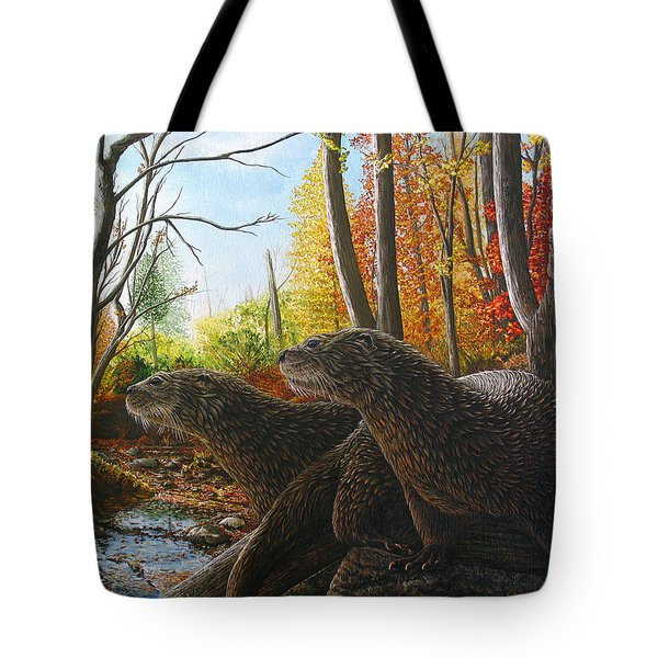 The Journey Tote Bag by Cara Bevan