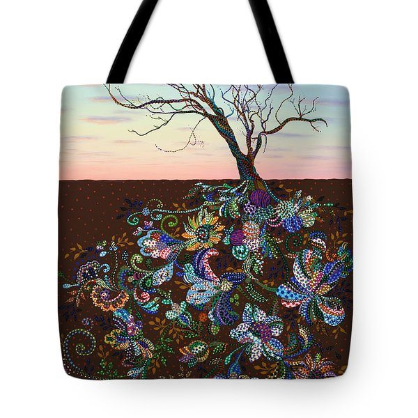 The Journey Tote Bag by James W Johnson