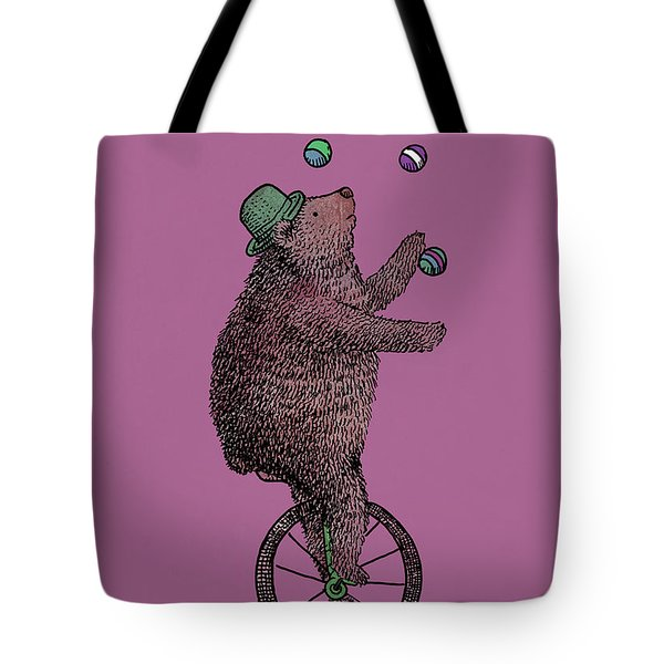 The Juggler Tote Bag by Eric Fan