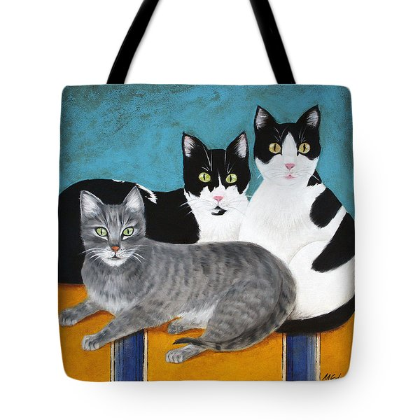The Kids Tote Bag by Marna Edwards Flavell