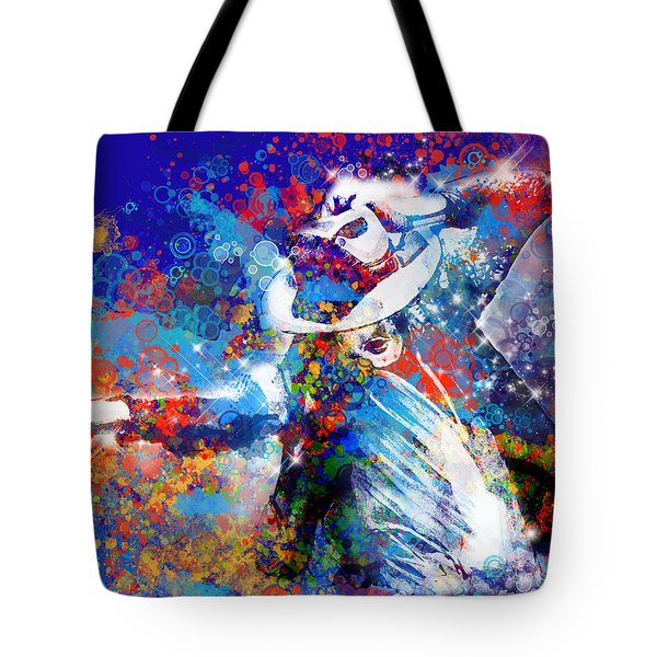 The King 3 Tote Bag by Bekim Art