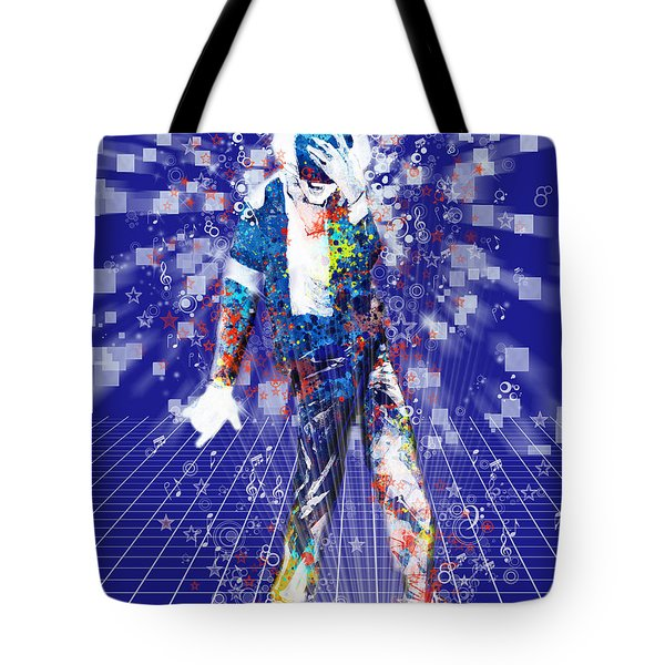 The King 4 Tote Bag by MB Art factory