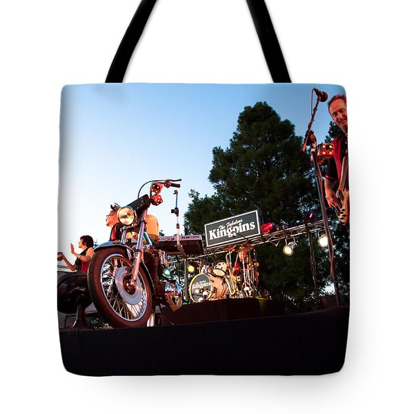 The Kingpins II Tote Bag by David Patterson