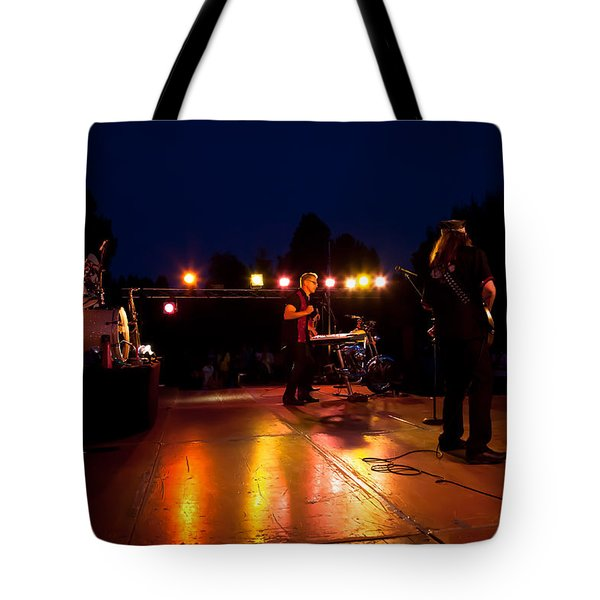 The Kingpins Rock Pullman Tote Bag by David Patterson