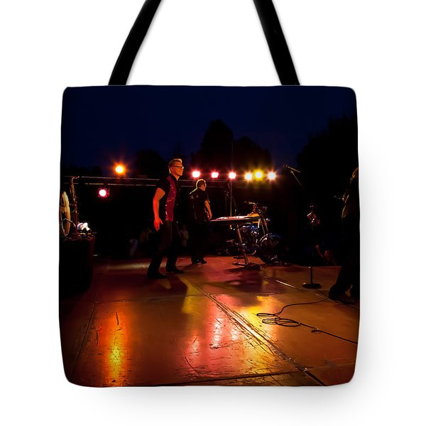 The Kingpins Rock The Night Away Tote Bag by David Patterson