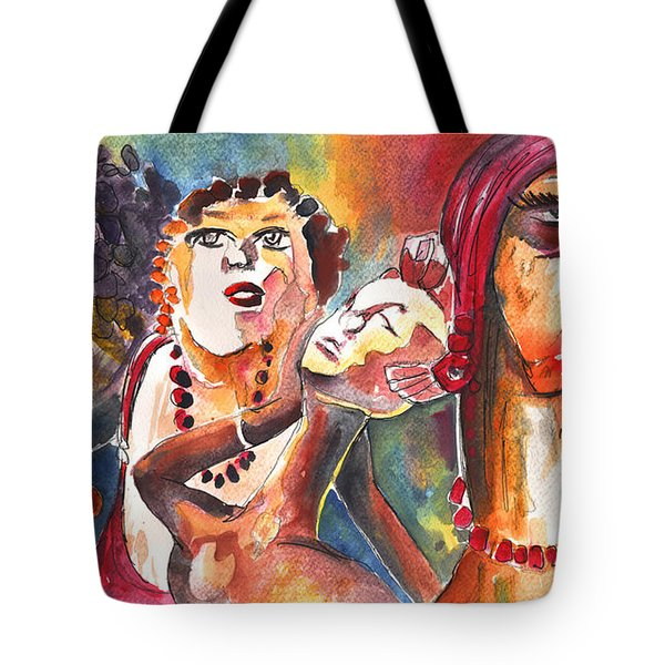 The Ladies of Loket in The Czech Republic Tote Bag by Miki De Goodaboom