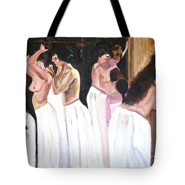 The Ladies Of The House Tote Bag by Rex Maurice Oppenheimer