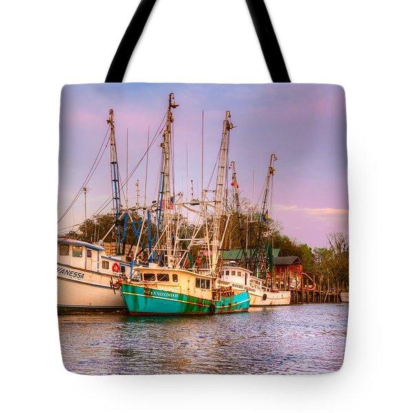 The Lady Vanessa Tote Bag by Debra and Dave Vanderlaan