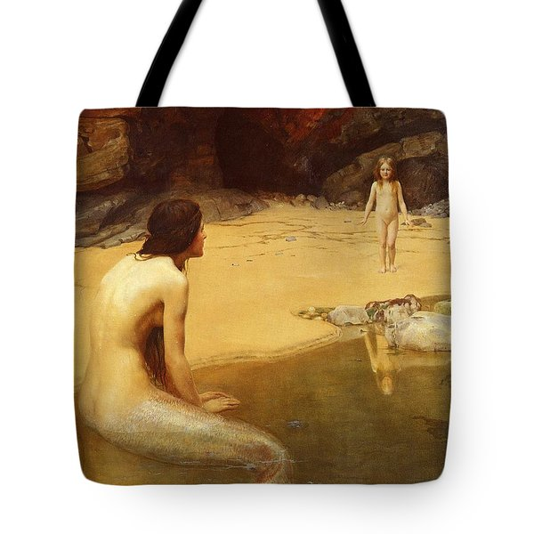 The Land Baby Tote Bag by Philip Ralley