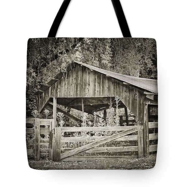 The Last Barn Tote Bag by Joan Carroll