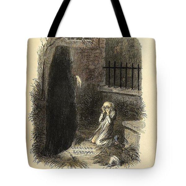 The Last of the Spirits Tote Bag by Philip Ralley