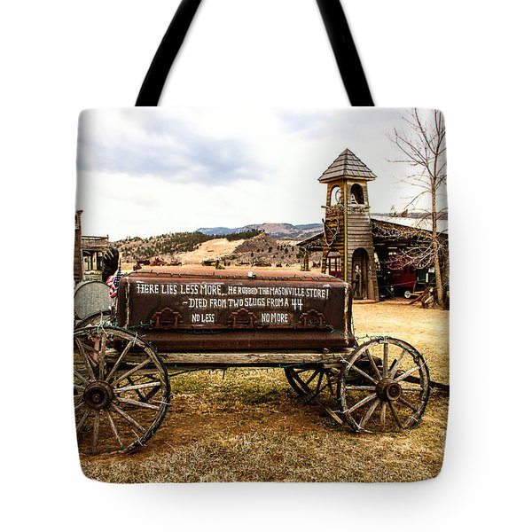 The Last Ride Tote Bag by Jon Burch Photography
