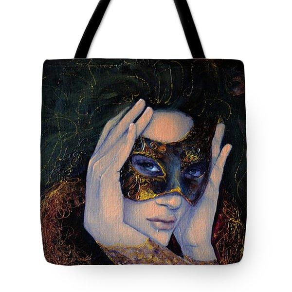The Last Secret Tote Bag by Dorina  Costras