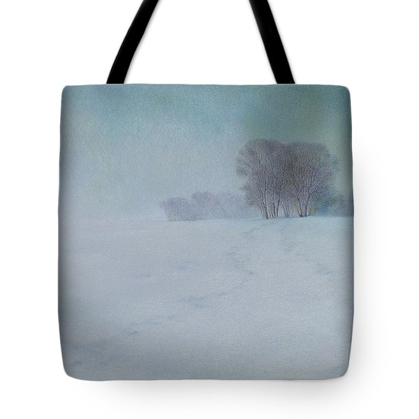 The Last Snow Tote Bag by Lynn Bywaters