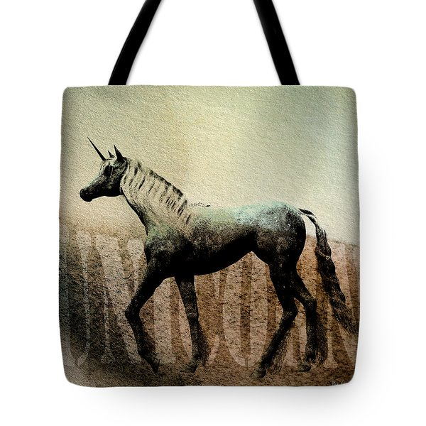 The Last Unicorn Tote Bag by Bob Orsillo