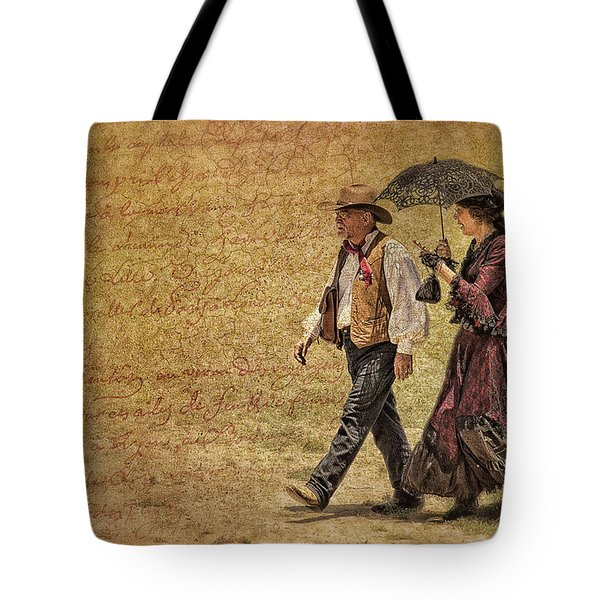 The Last Word Tote Bag by Priscilla Burgers