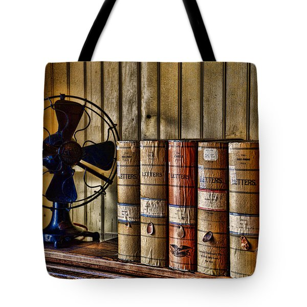The Lawyers Desk Tote Bag by Paul Ward