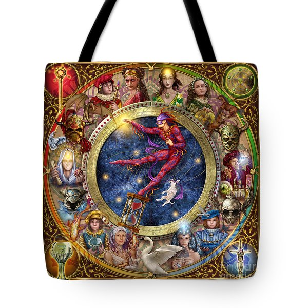 The Legacy Of The Devine Tarot Tote Bag by Ciro Marchetti