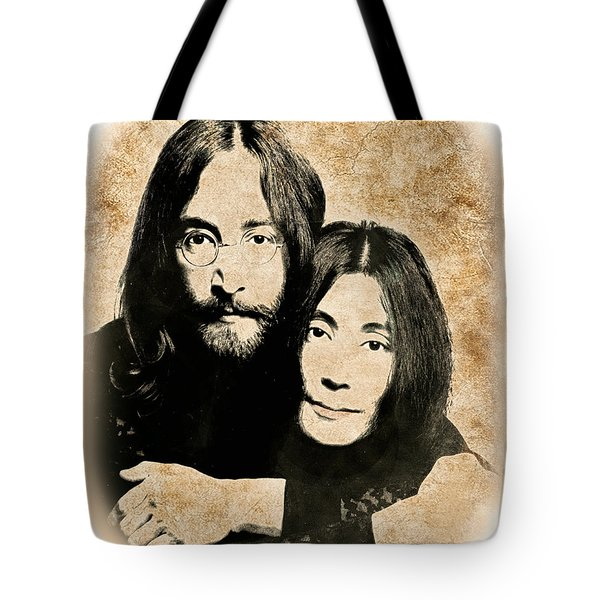The Lennons Tote Bag by Gary Keesler