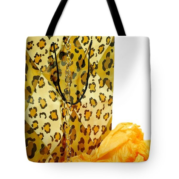 The Leopard Gift Bag Tote Bag by Diana Angstadt
