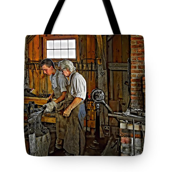 The Lesson Tote Bag by Steve Harrington