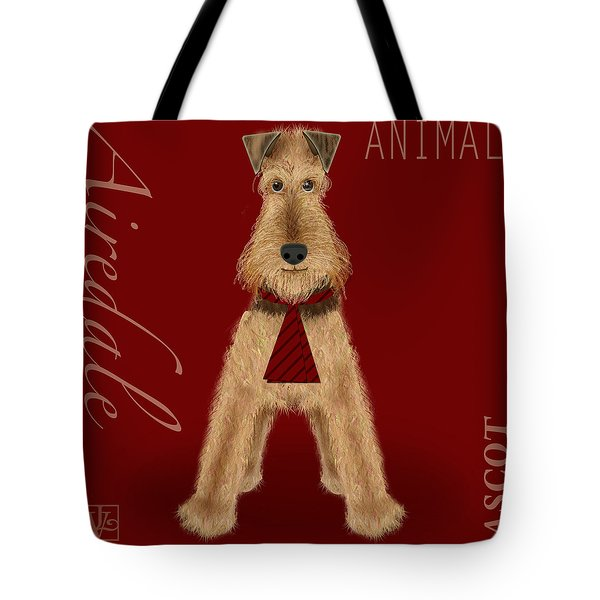 The Letter A Tote Bag by Valerie   Drake Lesiak