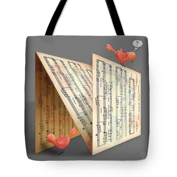 The Letter N Tote Bag by Valerie Drake Lesiak