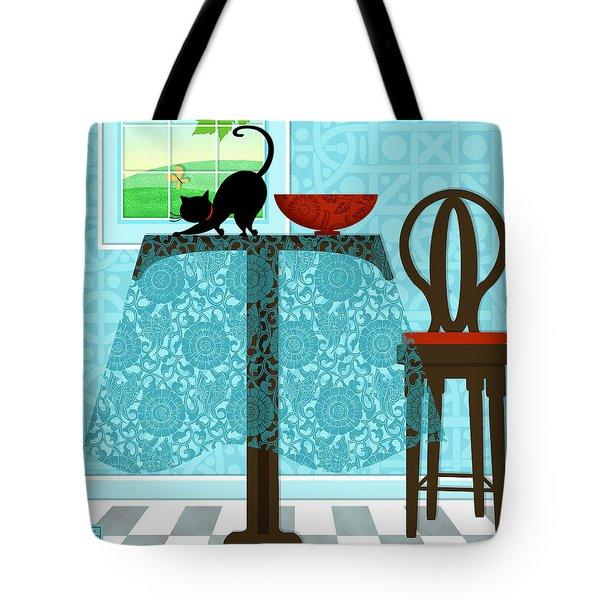 The Letter T Tote Bag by Valerie   Drake Lesiak