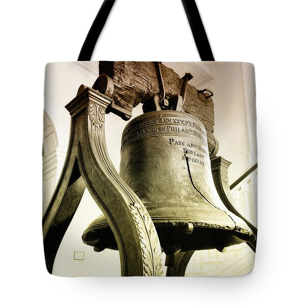 The Liberty Bell Tote Bag by Bill Cannon