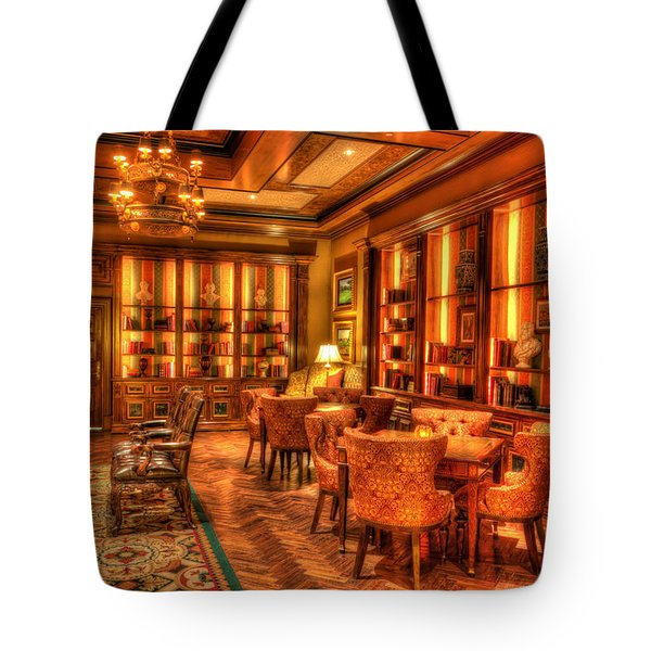 The Library Tote Bag by Heidi Smith