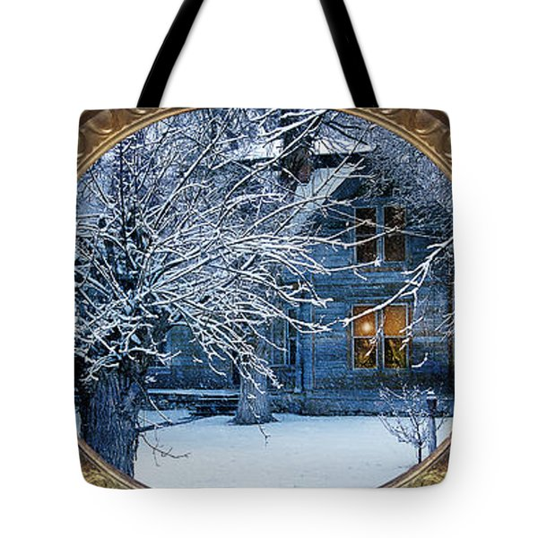 The Light In The Window Tote Bag by Gunter Nezhoda