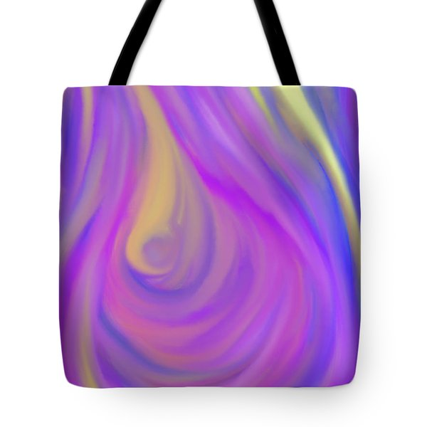 The Light Of The Feminine Ray Tote Bag by Daina White