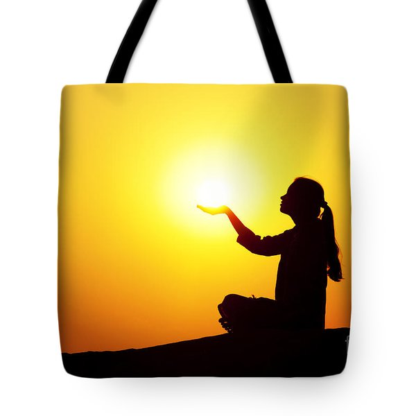 The Light Tote Bag by Tim Gainey