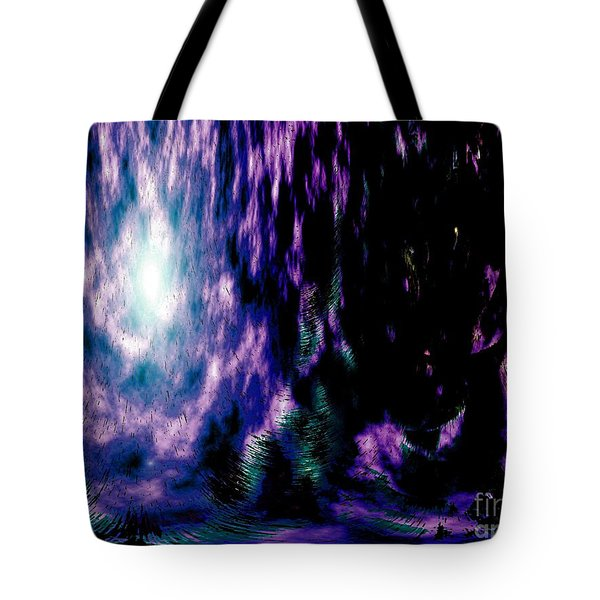 The Light Within Tote Bag by Annie Zeno
