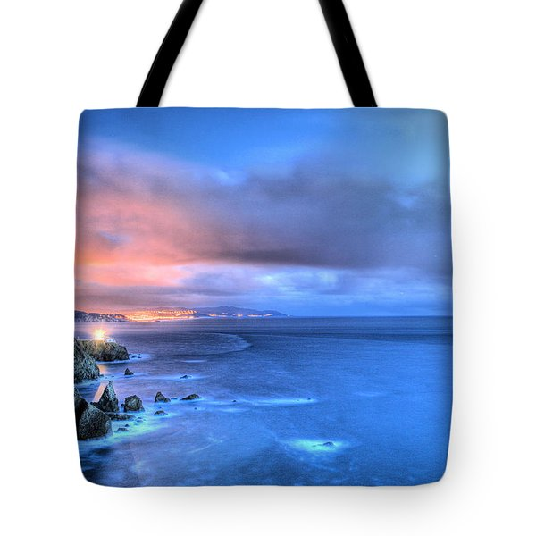 The Lighthouse Tote Bag by JC Findley