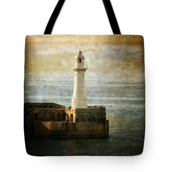 The Lighthouse Tote Bag by Lucinda Walter