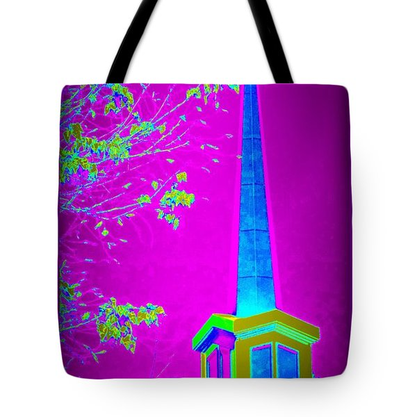 The Lights On Tote Bag by Bobbee Rickard